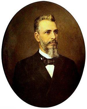 Bernardino José de Campos Júnior - Bernardino de Campos; portrait by Karl Ernst Papf (1895)