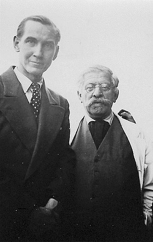 Karl Giese - Karl Giese and Magnus Hirschfeld. Photo from archive of Magnus-Hirschfeld-Gesellschaft