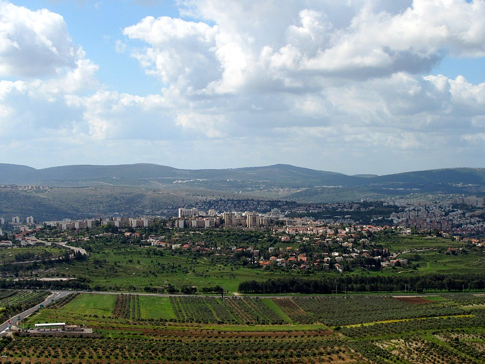 Karmiel view from hills
