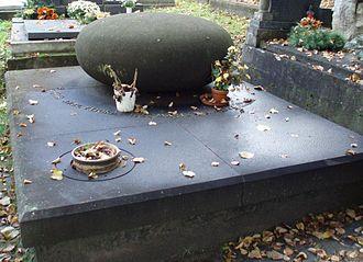 Karel Plicka - Plicka's grave, in Martin (Slovakia)