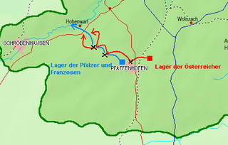 Battle of Pfaffenhofen battle