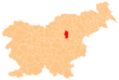 The location of the Municipality of Žalec