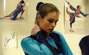 Katarina Witt - Witt at the 1986 World Championships