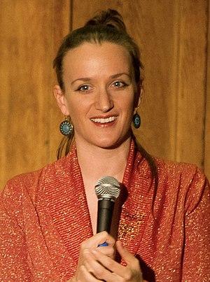 Kate Smurthwaite - Image: Kate Smurthwaite, 2010