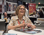 Kathryn D. Sullivan at BookExpo (05260)