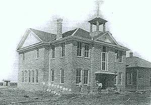 Katy Independent School District - Katy High School building 1909-1947