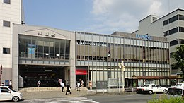 Kawagoe Station West exit 20120608.jpg