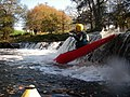 Kayaking a Waterfall - geograph.org.uk - 485619.jpg