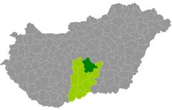 magyarország térkép kecskemét Kecskemét District   Wikipedia magyarország térkép kecskemét