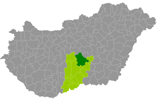 Kecskemét District Districts of Hungary in Bács-Kiskun