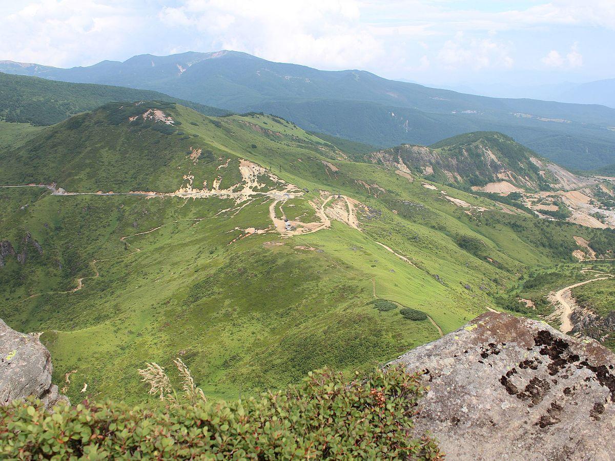 Kenashi Path from Mt.Hahu2.jpg