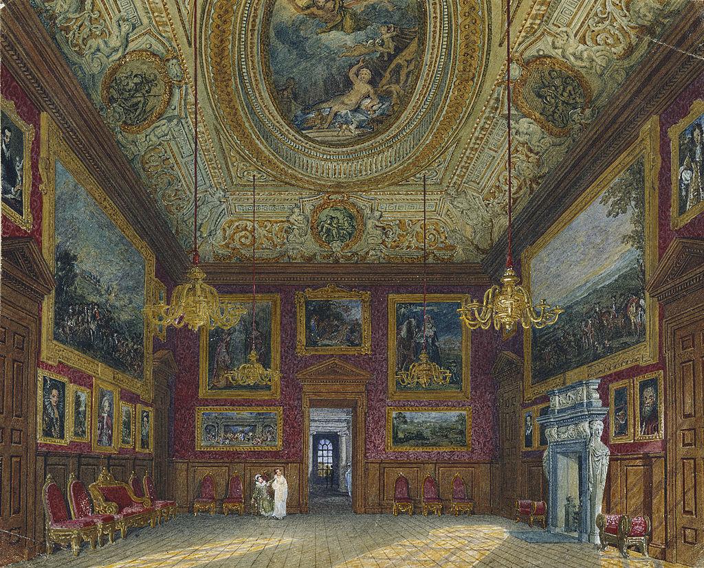 Kensington Palace, King's Great Drawing Room, by Charles Wild, 1816 - royal coll 922157 313717 ORI 2.jpg