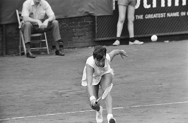 File:Kerry Melville (Australië, kampioene) in actie, Bestanddeelnr 922-6786.jpg