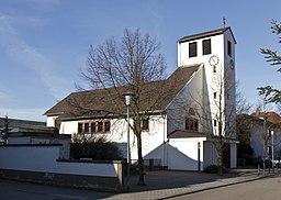 Ketsch evangelische Kirche 20130111