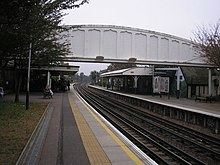Kew Gardens Station Footbridge