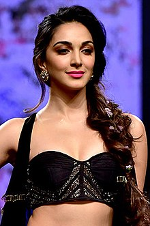 Kiara Advani walked the ramp at the Lakme Fashion Week 2018 (07) (cropped).jpg