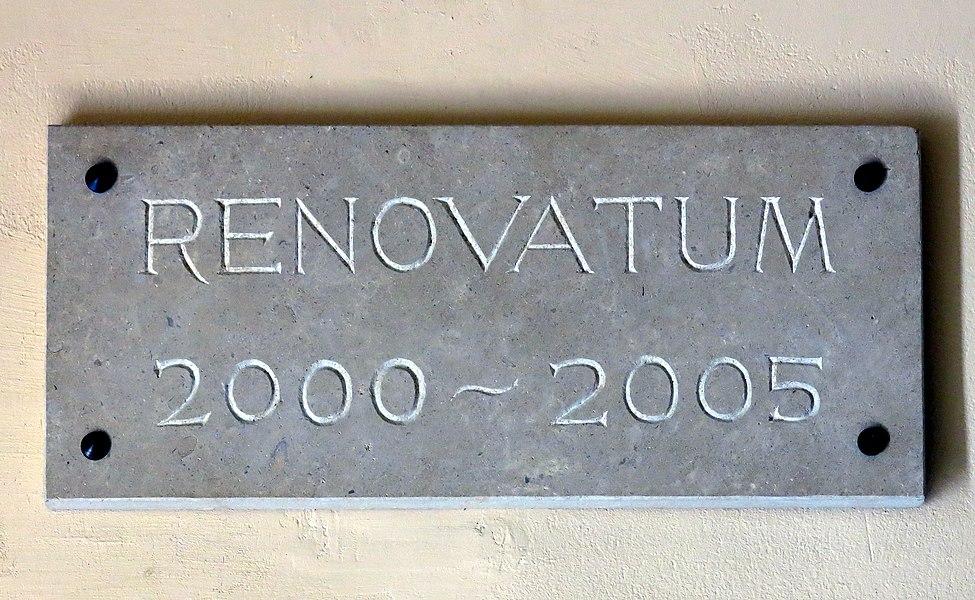 Tëscht 2000 an 2005 gouf Steeseler Kierch renovéiert.