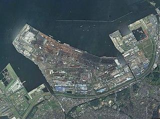 Kimitsu Steel Works Kobe Steel, Ltd.s ironworks