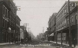 Dundas, Ontario - King Street in Dundas
