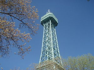 Kings Dominion - The replica Eiffel Tower at Kings Dominion