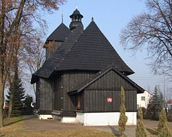Wooden church in Przewóz