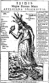 Kircher oedipus aegyptiacus 12 isis mater deorum.png