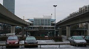 Kista metro station - Image: Kista A
