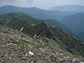 Kitadake south ridge.jpg