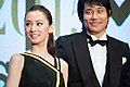 "Kitagawa Keiko & Matsuyama Kenichi ""Something Like Something Like It"" at Opening Ceremony of the 28th Tokyo International Film Festival (22242487898).jpg"