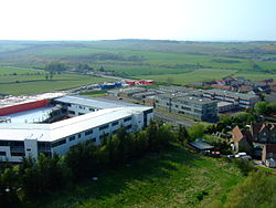 Kite aerial photo of the Armadale Academy.JPG