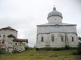 Kiy island russia monastery