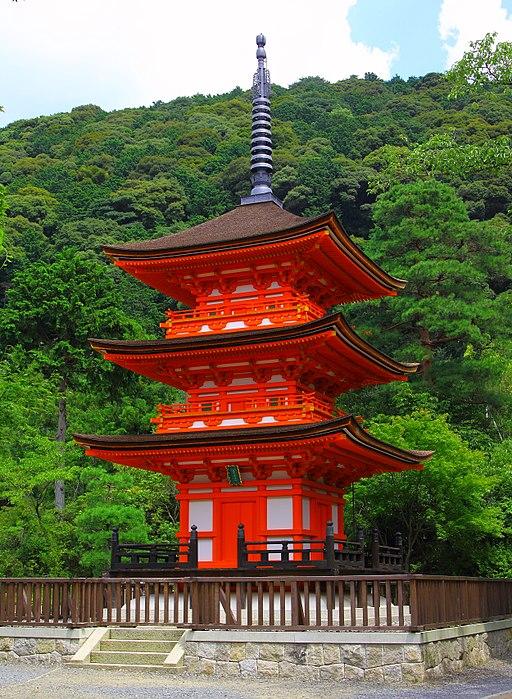 Kiyomizu-dera,koyasu no tou