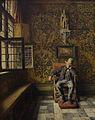 Kmska Henri de Braekeleer (1840-1888) - De man in de stoel (1876) 28-02-2010 14-24-31.jpg