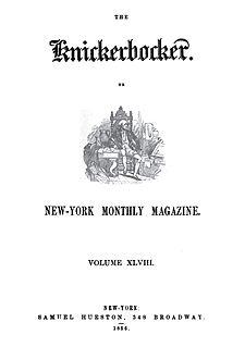 <i>The Knickerbocker</i> Defunct magazine