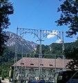 Kochel am See, Walchenseekraftwerk, Gittermasten 2008-07.jpg