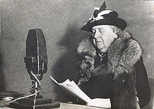 Radio Oranje - Queen Wilhelmina speaking on Radio Oranje