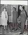 Koninklijk huis, koninginnen, prinsen, staatsbezoeken, presidenten, ontvangsten,, Bestanddeelnr 017-0053.jpg