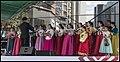Korean Choir ready to perform Brisbane King George Square-1 (43290473374).jpg