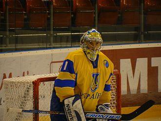 Ukraine men's national ice hockey team - Image: Kostyantyn Symchuk