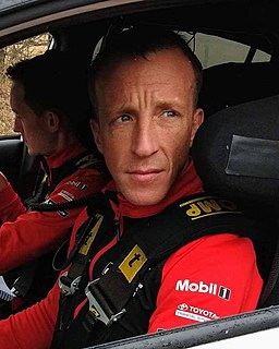 Kris Meeke British World Rally Championship driver