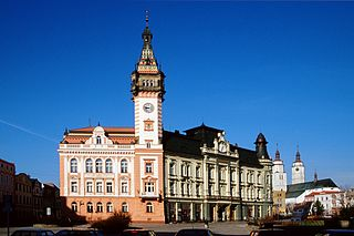 Krnov Town in Czech Republic