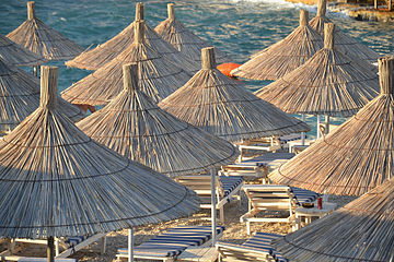 Ksamil, Albania - beach.JPG
