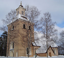 Kumla Church in March 2010