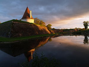 Kuressaare Castle - The northern bastion.