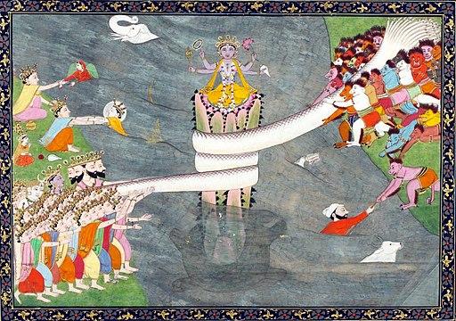 Kurma, the tortoise incarnation of Vishnu