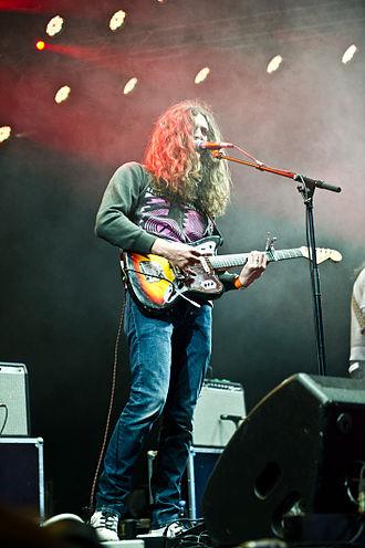 Kurt Vile - Vile performing at Roskilde Festival in 2011