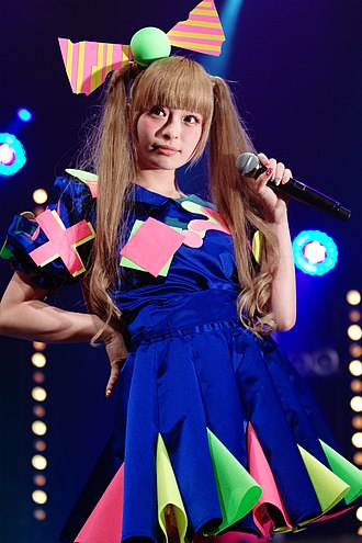 Kyary Pamyu Pamyu - Kyary Pamyu Pamyu performing at the Japan Expo in July 2012