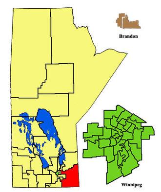 La Verendrye (electoral district) - Image: La Verendrye 2011