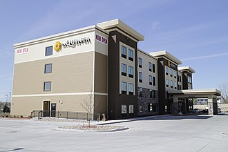 Wyndham Hotels and Resorts - Image: La Quinta Inns & Suites in Gillette, Wyoming