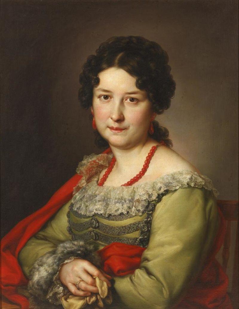 La esposa del grabador Cayetano Vargas Machuca (Museo del Romanticismo de Madrid).JPG